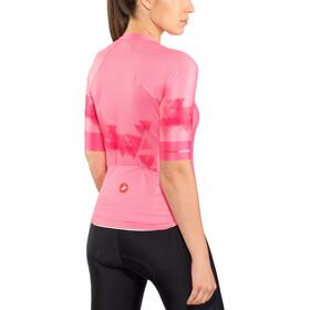 Castelli Aero PRO Naiset Pyöräilypaita lyhythihainen , vaaleanpunainen